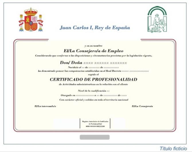 que es un certificado de profesionalidad